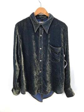 BED J.W FORD(ベッドフォード)Velvet Plain Shirtシャツ