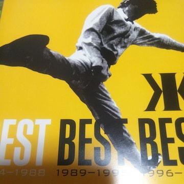 ベストCD 吉川晃司 BEST BEST BEST 1984-1988 帯無し