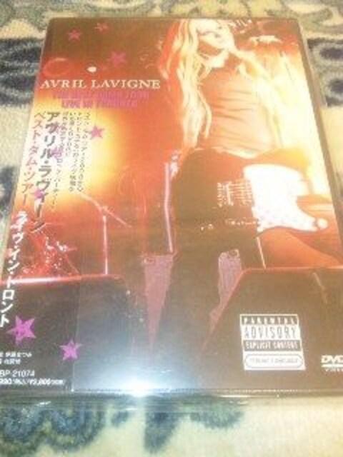 未開封DVD アヴリルラヴィーン AVRIL LAVIGNE  < タレントグッズの