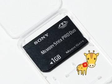 送料無料 中古ですが美品です SONY メモリースティックPRODuo 1GB PSPに