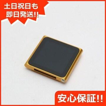 ●安心保証●美品●iPOD nano 第6世代 8GB オレンジ●