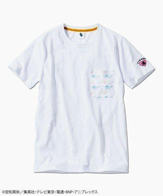 3Lサイズ紳士サイズ!銀魂!志村新八モデル半袖Tシャツ!着まわしにインナーにも! < 男性ファッションの