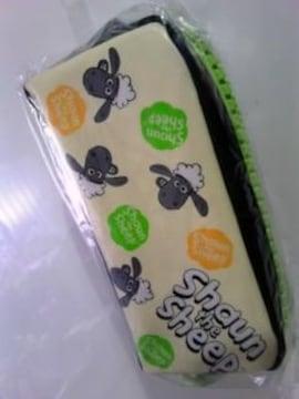 未開封でかジッパーペンケースひつじのショーン フェイス柄¥500