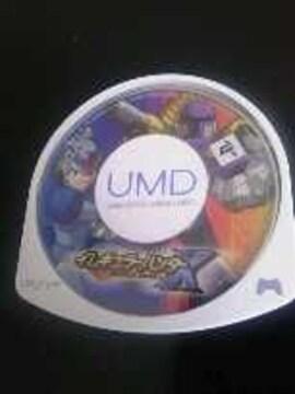 PSPソフト[イレギュラーハンターX]ソフトのみ/動作確認済み/ロックマン
