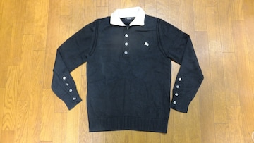 BURBERRY BLACK LABEL★バーバリー★ボタンセーター★3