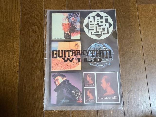 送料無料/布袋寅泰GUITARHYTHM WILD TOURオフィシャルステッカーセット  < タレントグッズの