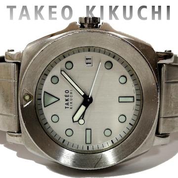 良品 タケオキクチ/TAKEO KIKUCHI【無骨】メンズ腕時計