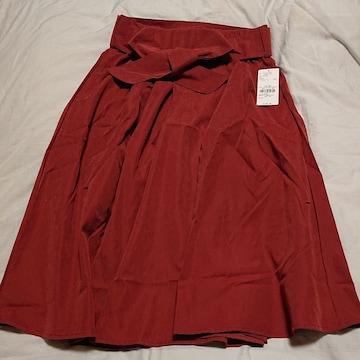 赤いスカート フリーサイズ