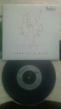 送料無料 ビートルズ フリー・アズ・ア・バード 新品 ジョンレノン レコード 7インチ