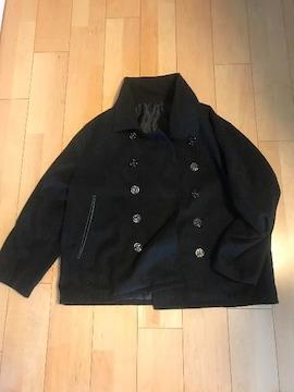 LLBサイズ!ブラックのPコート