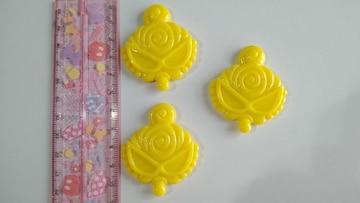 ☆プラパーツ☆ヒスミニ☆イエロー3個set☆