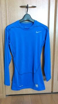 激安61%オフナイキ、長袖、着圧、長袖Tシャツ(新品タグ、青、L)