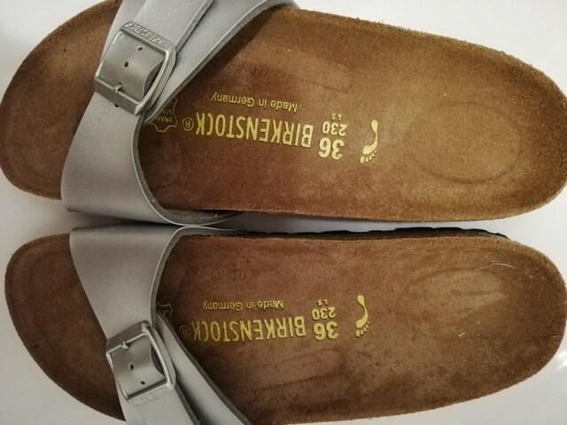 #ビルケンシュトック#サンダル#健康靴#ドイツ#新品同様#美品#BIRKENSTOCK  < ブランドの