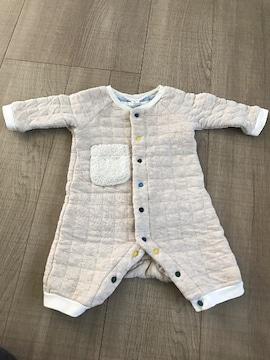 新生児〜暖かbaby服60バックスタイル有!出産予定の方にも