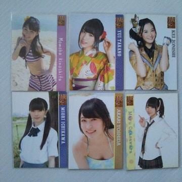 NMB48《初期シングル封入特典トレカ6枚》