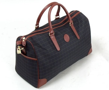 新品 豊岡製鞄☆トラベルボストンバッグ 黒色 送料無料