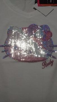 Rady☆ミルフィーユキティちゃん☆キラキラTシャツ☆ホワイト☆新品タグ付