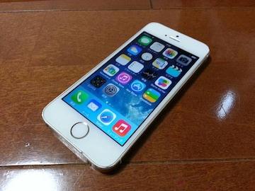 即落/即発!!美中古品 iPhone 5s 64GB ゴールド