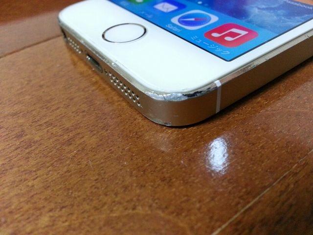即落/即発!!美中古品 iPhone 5s 64GB ゴールド < 家電/AVの