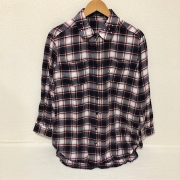 #one wayチェックシャツM