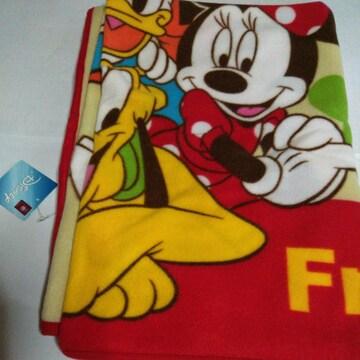 タグ付きミッキーマウス&ドナルドダックブランケット