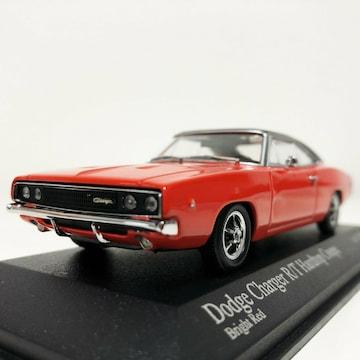 ミニチャンプス/'68 Dodgeダッジ Chargerチャージャー 1/43