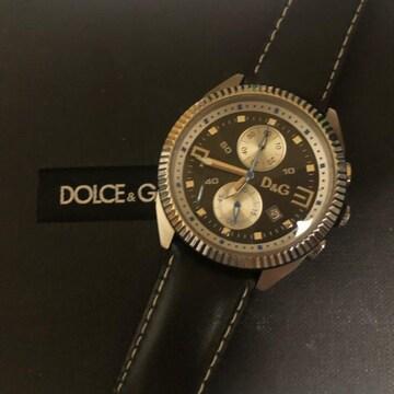 1スタ 美品☆ドルチェ&ガッバーナ  クロノグラフ腕時計