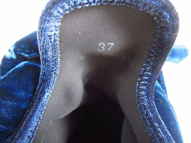 MM6 メゾン マルジェラ ベルベット スニーカー/37 < ブランドの