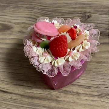 ハンドメイド☆☆スイーツデコ★小物ケース