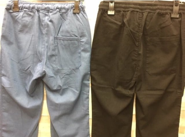 【3L】サラッと快適メンズ麻混くつろぎパンツ(黒)1枚2149円が < 男性ファッションの