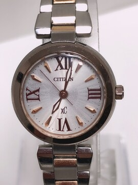 T267★シチズン XC E031-T014275 エコドライブ ソーラー 腕時計