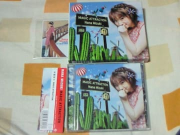 CD 水樹奈々 セカンドアルバム MAGIC ATTRACTION 初回限定版
