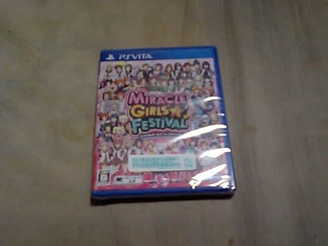 【新品PS vita】ミラクルガールズフェスティバル  < ゲーム本体/ソフトの
