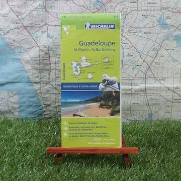 新品【輸入地図】Guadeloupe/グアドループ -Michelin-
