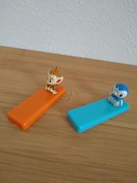 ポケモン プラスチック製箸置き 2個 新品未使用