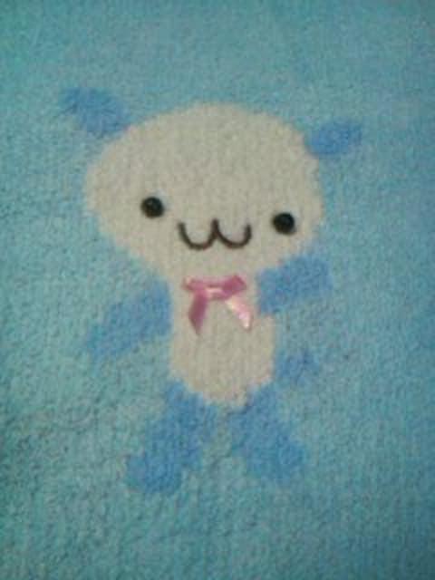 ●ポンポネット● クマさん 水色柔らかニット M(100-110位) < ブランドの