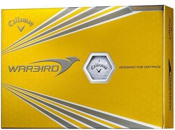 ゴルフボール WARBIRD 12個入り ホワイト