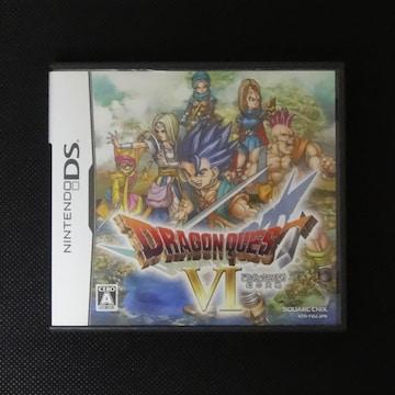 ドラゴンクエストVI 幻の大地 ニンテンドー DS ソフト