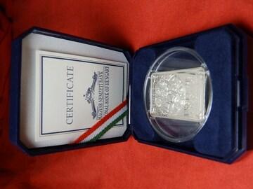 2001年発行  4000フォリント 1oz銀貨 美術学校開校100周年