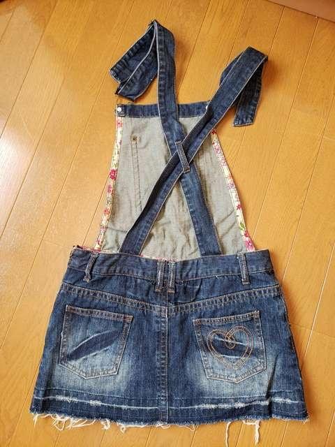 ☆新品同様☆LIZ LISAリズリサ☆サロペットスカート < ブランドの