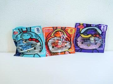 ハローキティ×Rody(シュノーケリング&ライフセーバー&サーフィン)3種セット