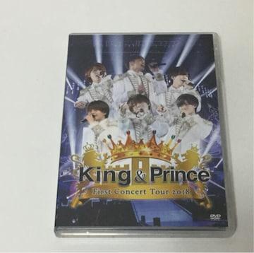 King & Prince/First Concert Tour2018 2枚組 DVD