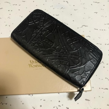 1スタ 超オススメ☆ヴィヴィアンウエストウッド ブラック長財布