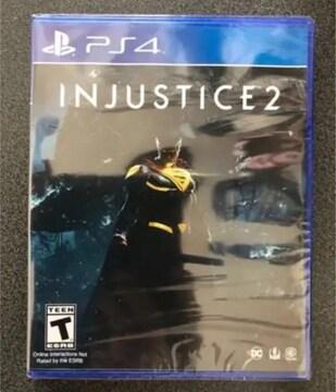 injustice 2 北米版 PS4ソフト