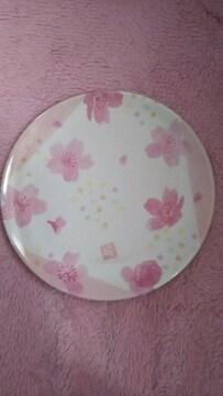 メラミンプレート、ピンク