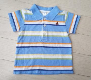 80★baby GAP★ボーダーポロシャツ★