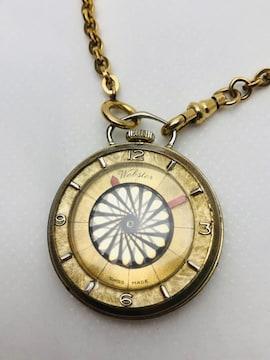 T175 Webster ウェブスター 手巻き 懐中時計 スイス製 希少