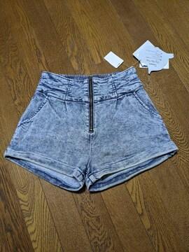 新品・未使用 ショートパンツ ハーフパンツ デニム Mサイズ
