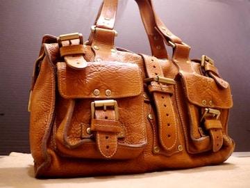 定番◆MULBERRY マルベリー ロクサンヌ レザーショルダー バッグ