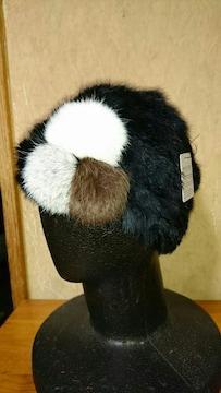 キッズ☆リアルファーラビット 帽子
